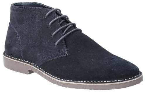 Hush Puppies Freddie Lace Mens Shoes Navy